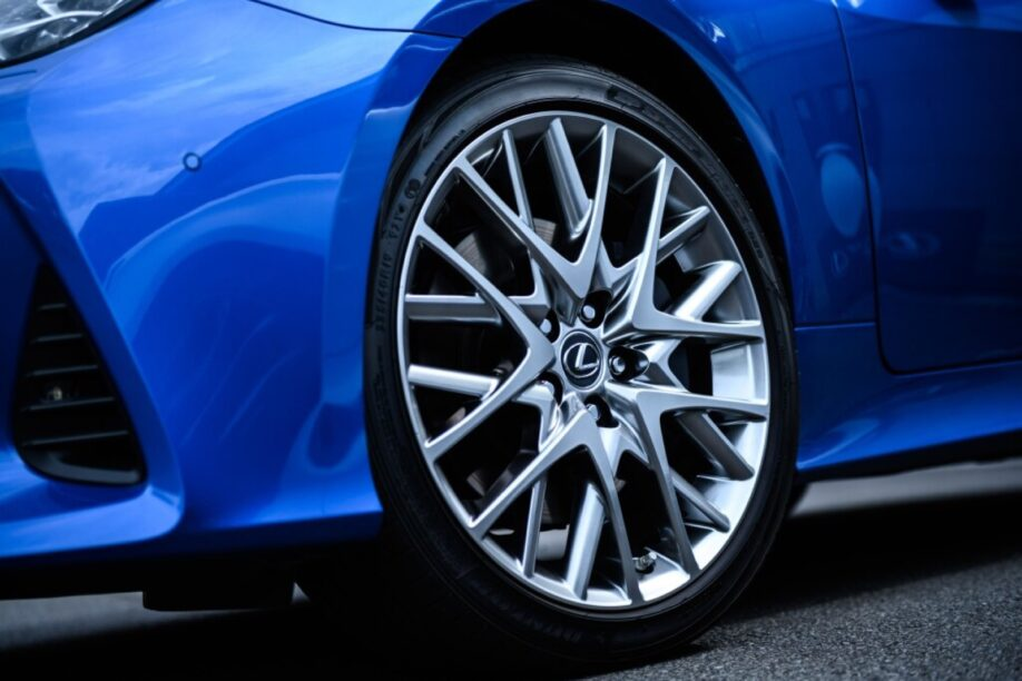 Sportieve Lexus coupé