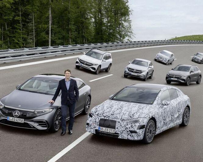 Mercedes-Benz presenteert elektrische toekomstplannen