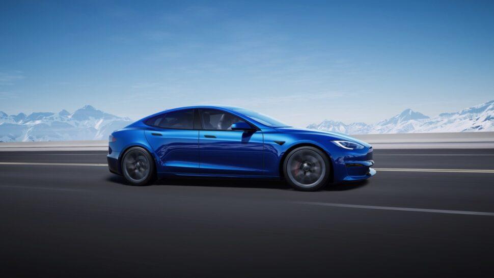 Supersnelle Tesla
