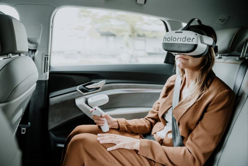 Audi en Holoride brengen passagiers naar andere wereld