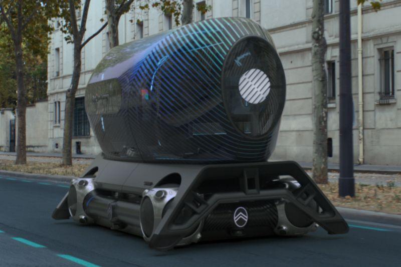 Citroën toont toekomstvisie op stadsvervoer