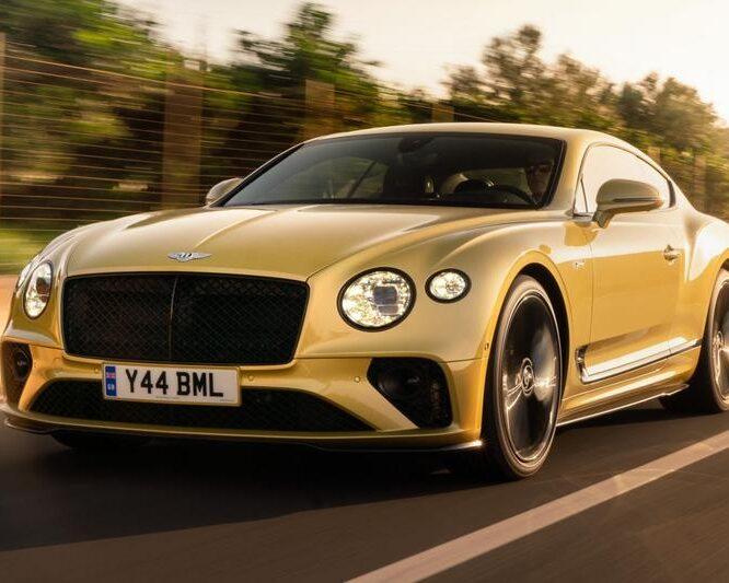 Eerste rijtest Bentley Continental GT Speed